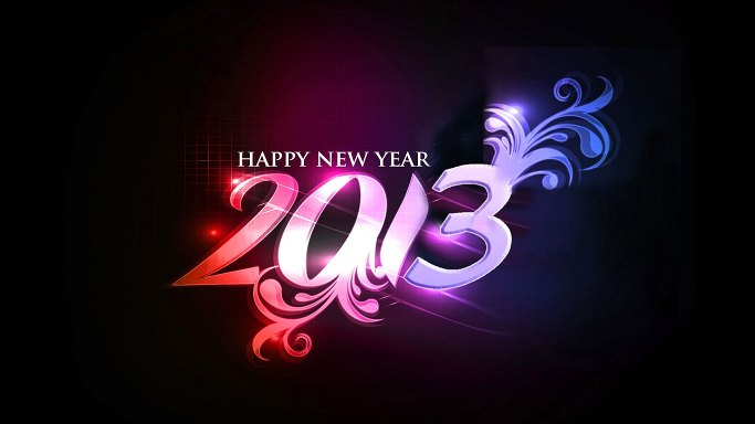 Wallpaper HD New Year 2013
