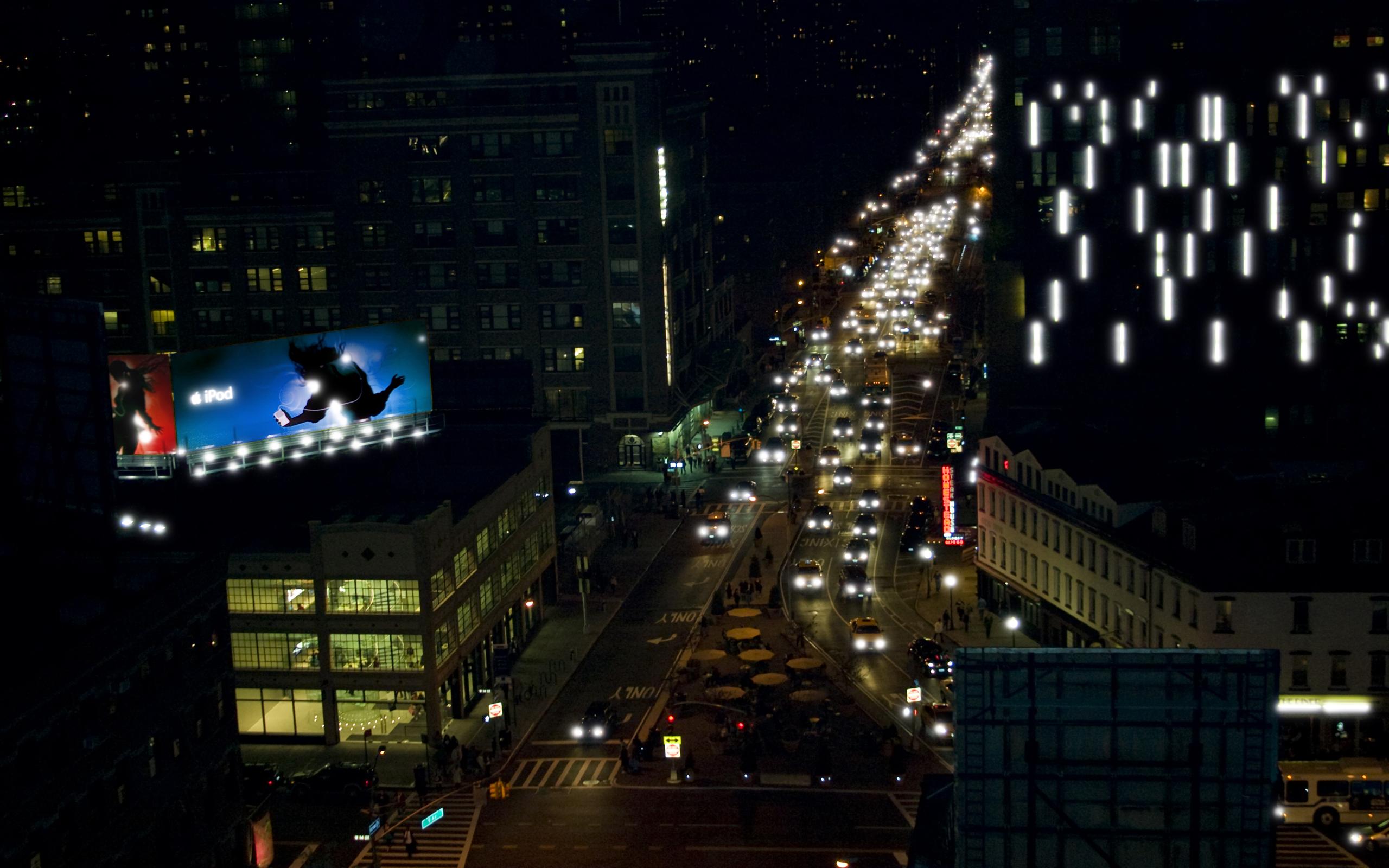 Foto Ciudad por la Noche