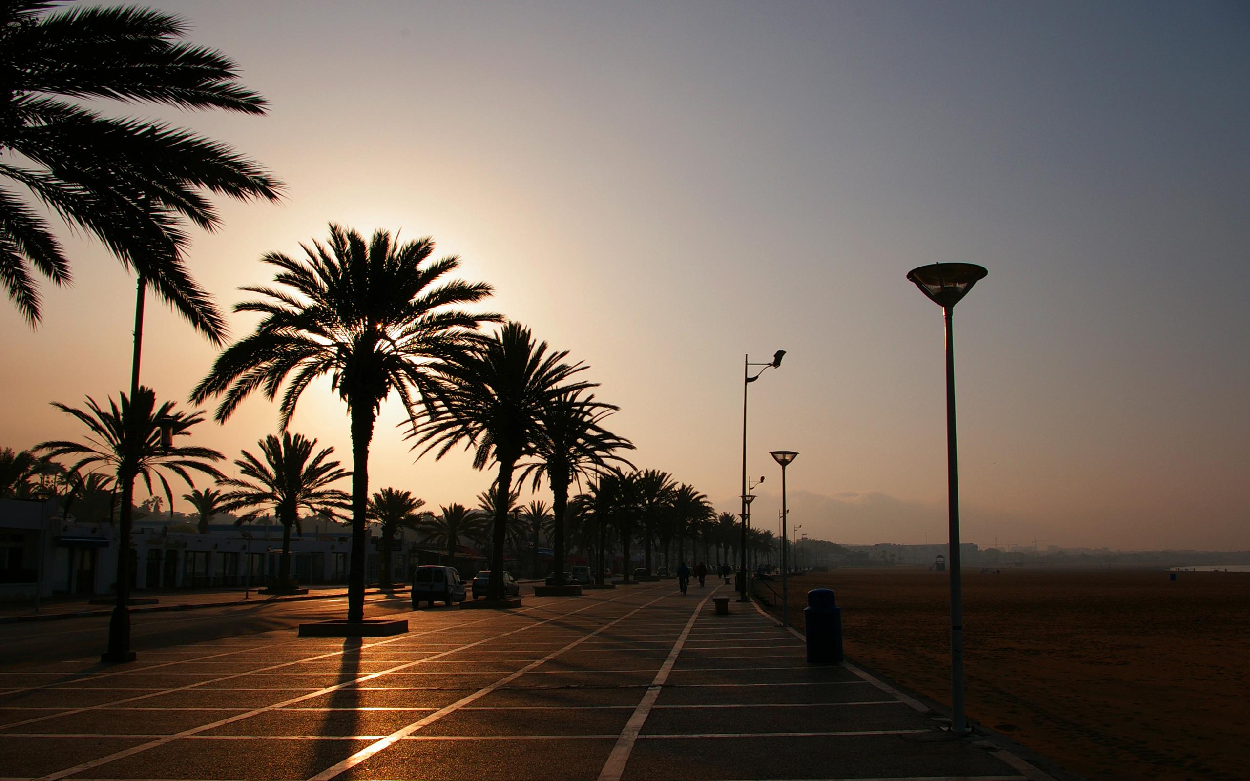 Foto Amanecer en la playa
