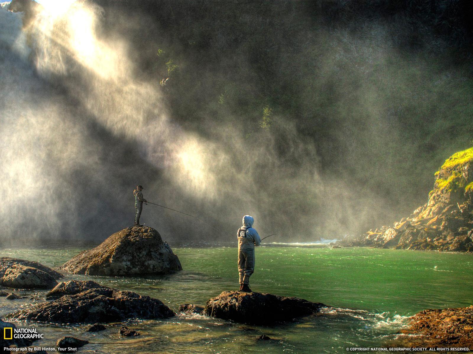 Imagen Hombres Pescando