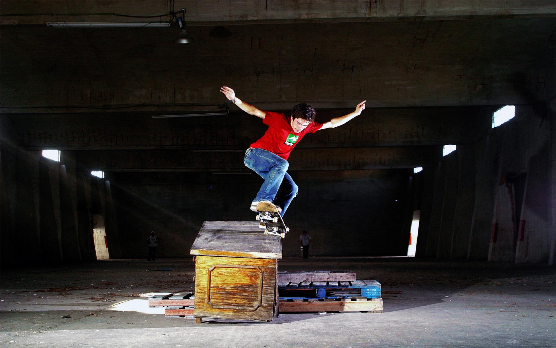 Foto Calidad Alta Skater Riel